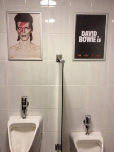 Bowie is overal
